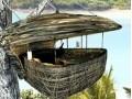 5米高树上建鸟巢餐厅服务员滑索道上菜 (514播放)