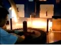 数控磨簧机(型号:三立电炉SLM250-12B-S双料盘,摄于福州立洲弹簧有限公司) (1666播放)